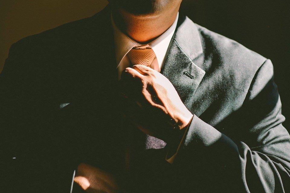 Tie, Necktie, Adjust, Adjusting, Man, Business